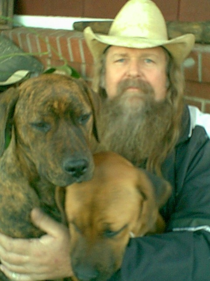 Don and puppies